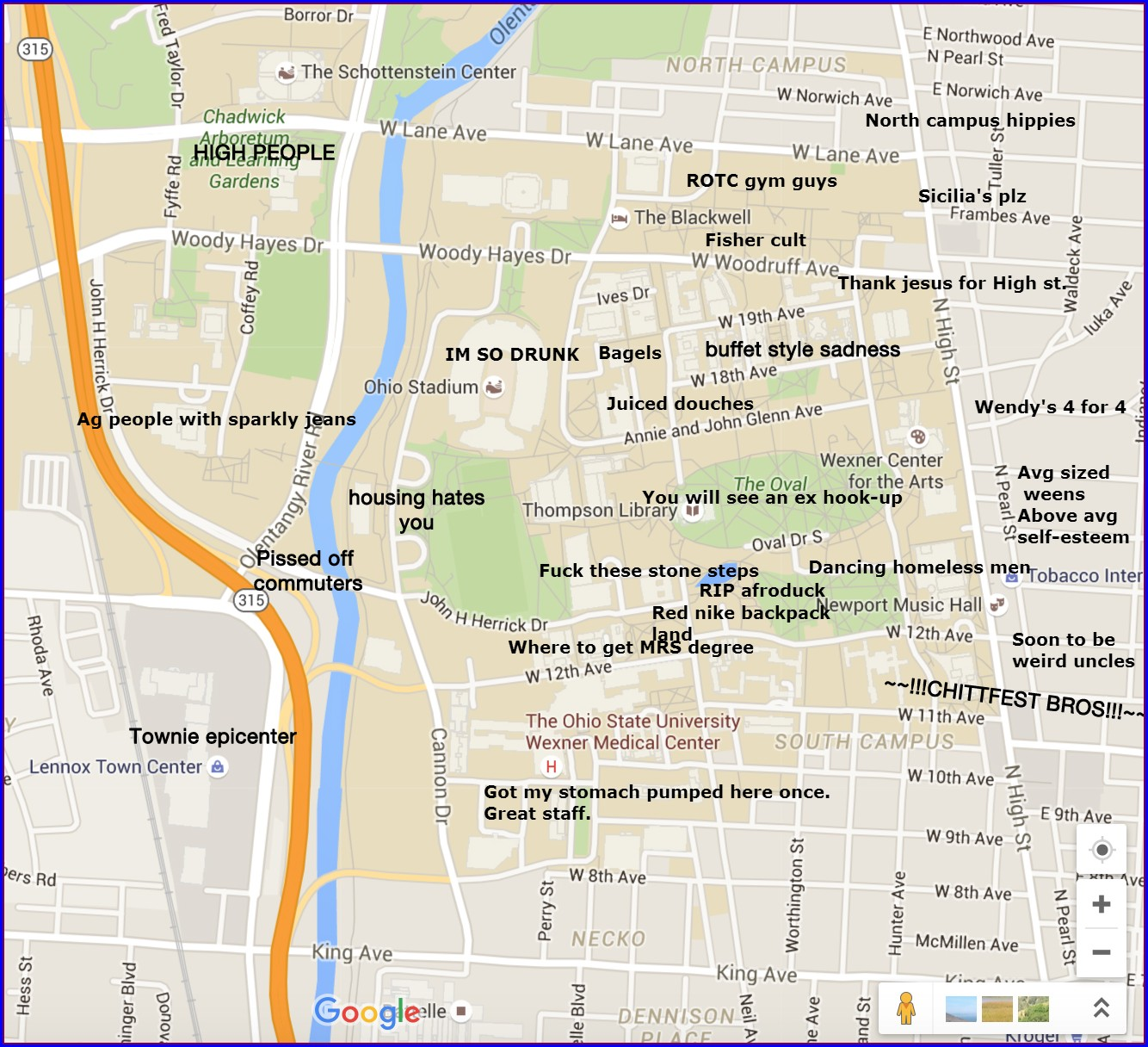 Osu Campus Housing Map