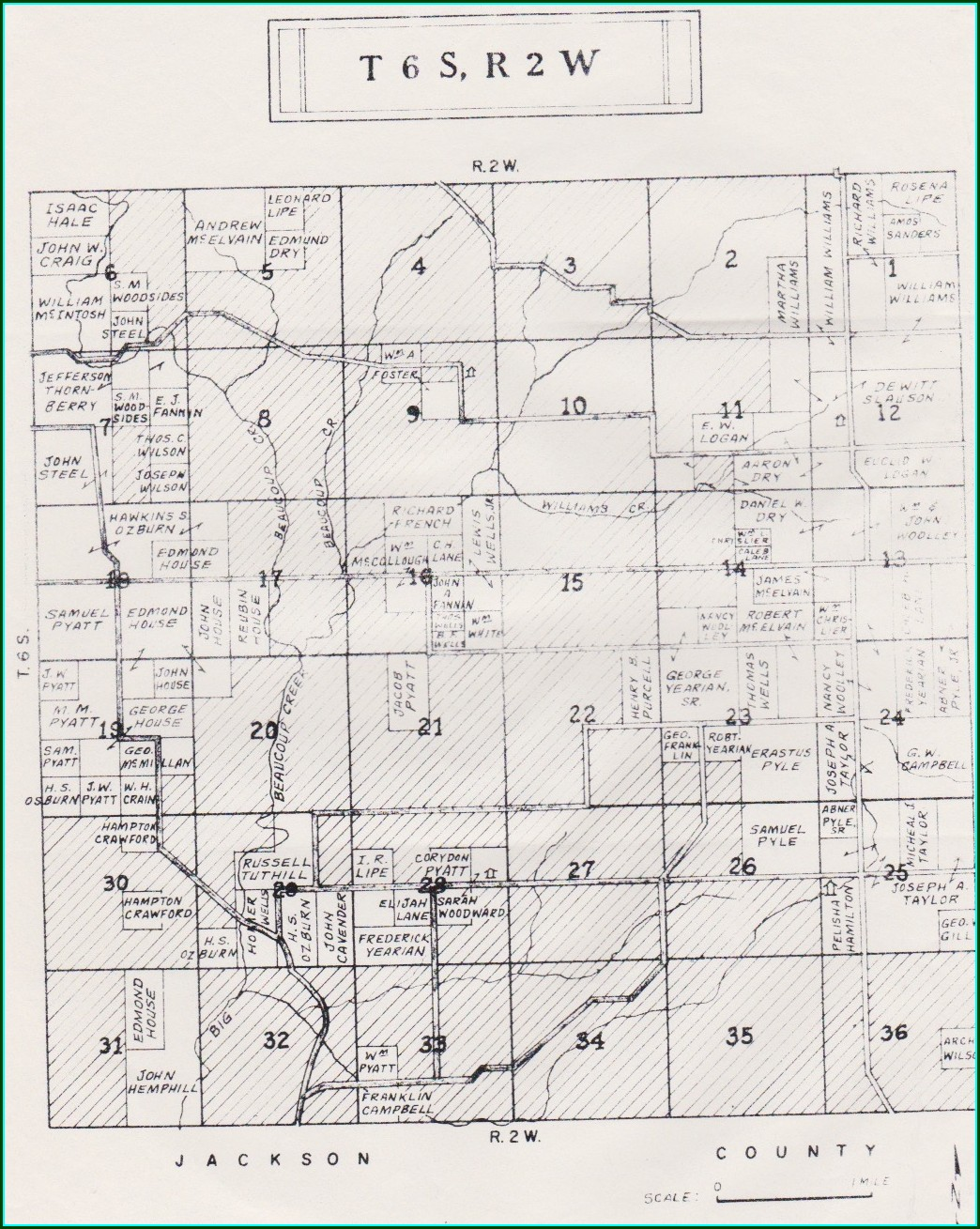 Perry County Illinois Plat Map