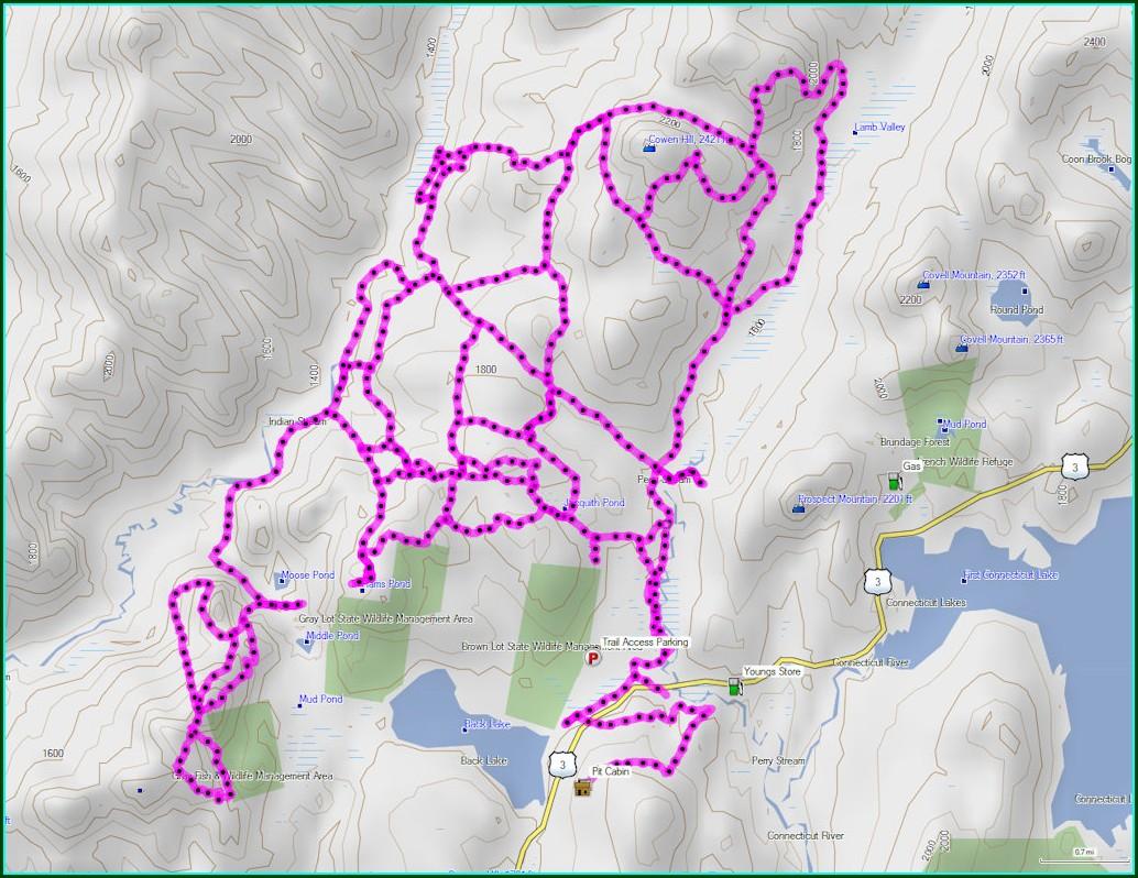 Pittsburg Nh Atv Trail Map