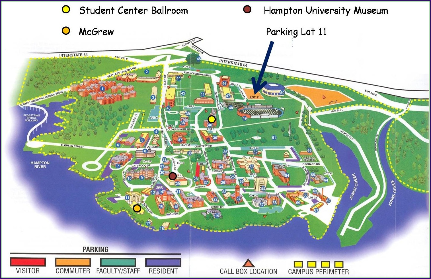 Point Park University Campus Map