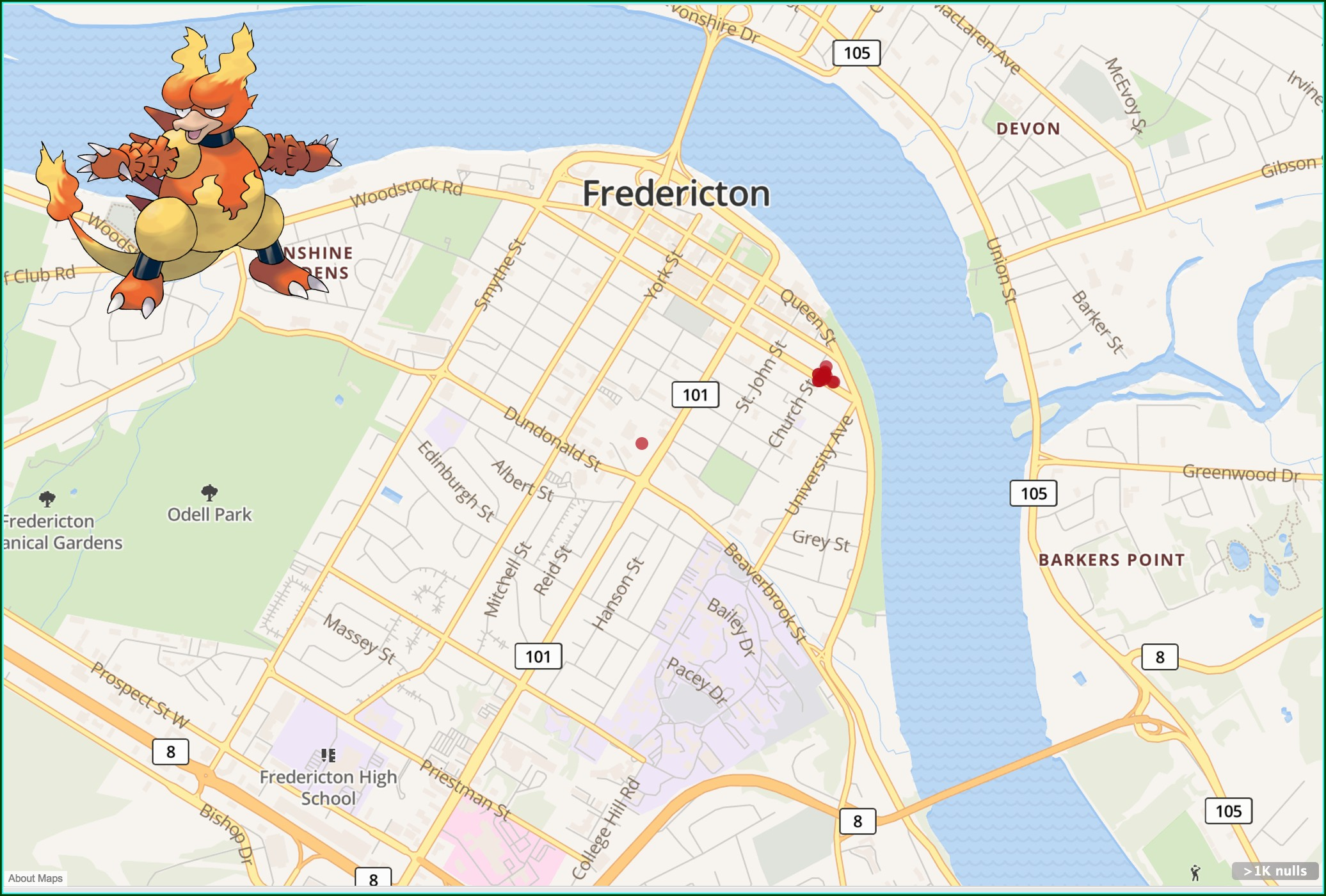 Pokemon Go Longitude And Latitude Map