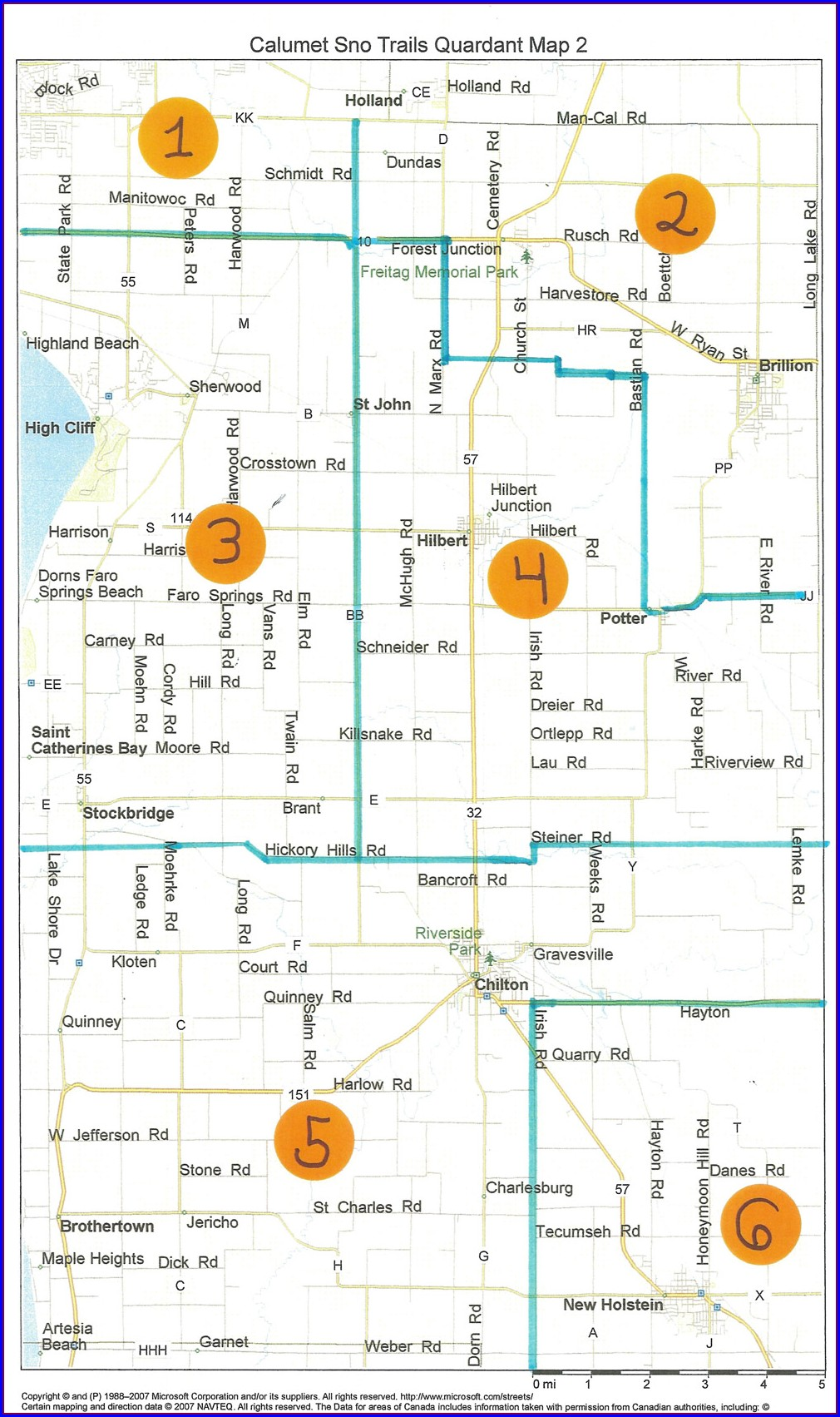 Polk County Wi Snowmobile Trail Map