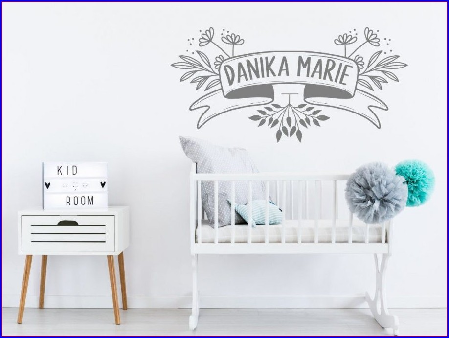 Pottery Barn Map Wall Decal