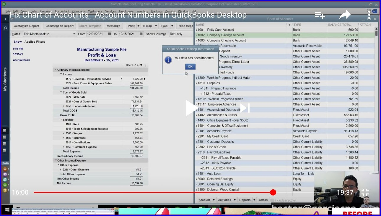 Quickbooks Tax Line Mapping Equity Accounts