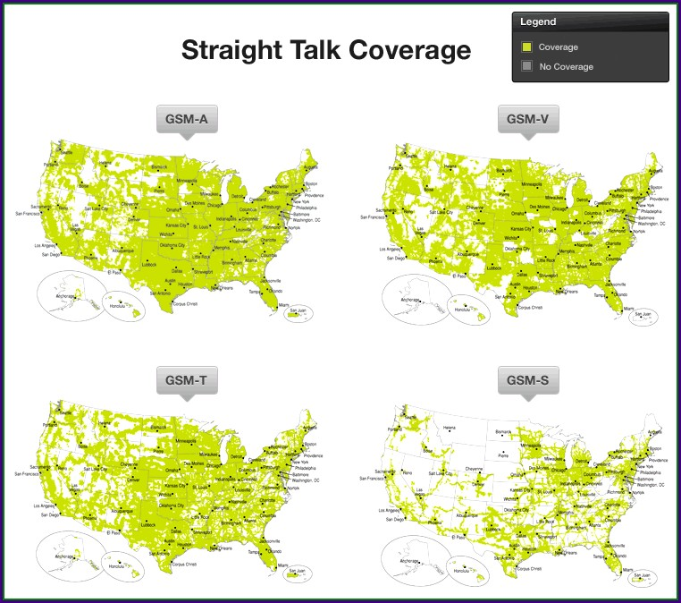 Real Straight Talk Coverage Map