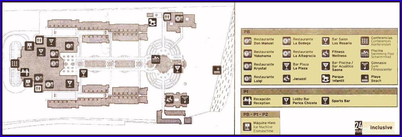 Riu Palace Punta Cana Mapa