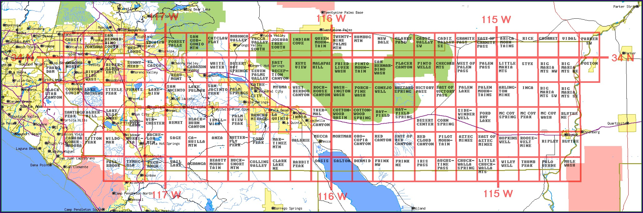Riverside County Survey Maps