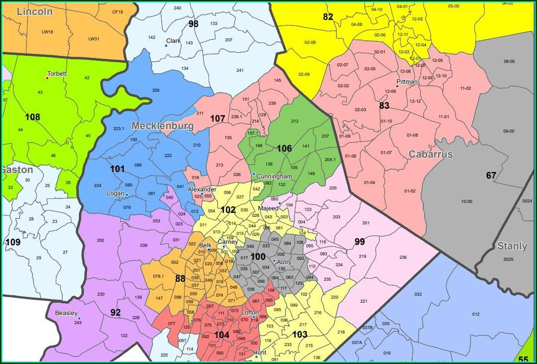 Robeson County Tax Map