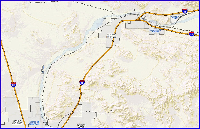 San Bernardino County Interactive Parcel Map