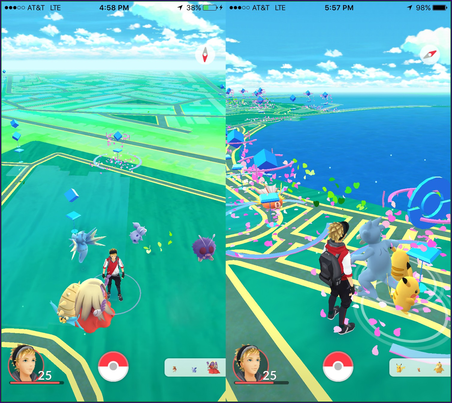 San Francisco Pier 39 Pokemon Go Map