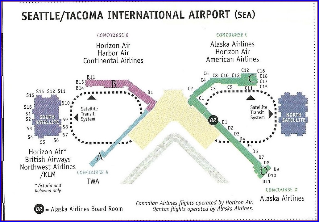Seatac Airport Parking Map