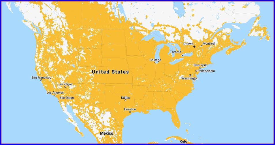 Sprint Coverage Map Louisiana