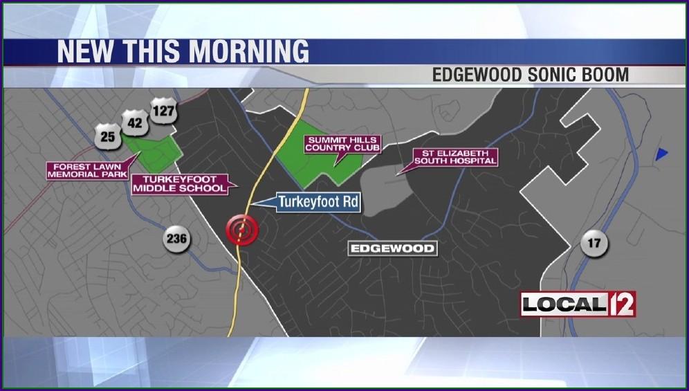 St Elizabeth Edgewood Map