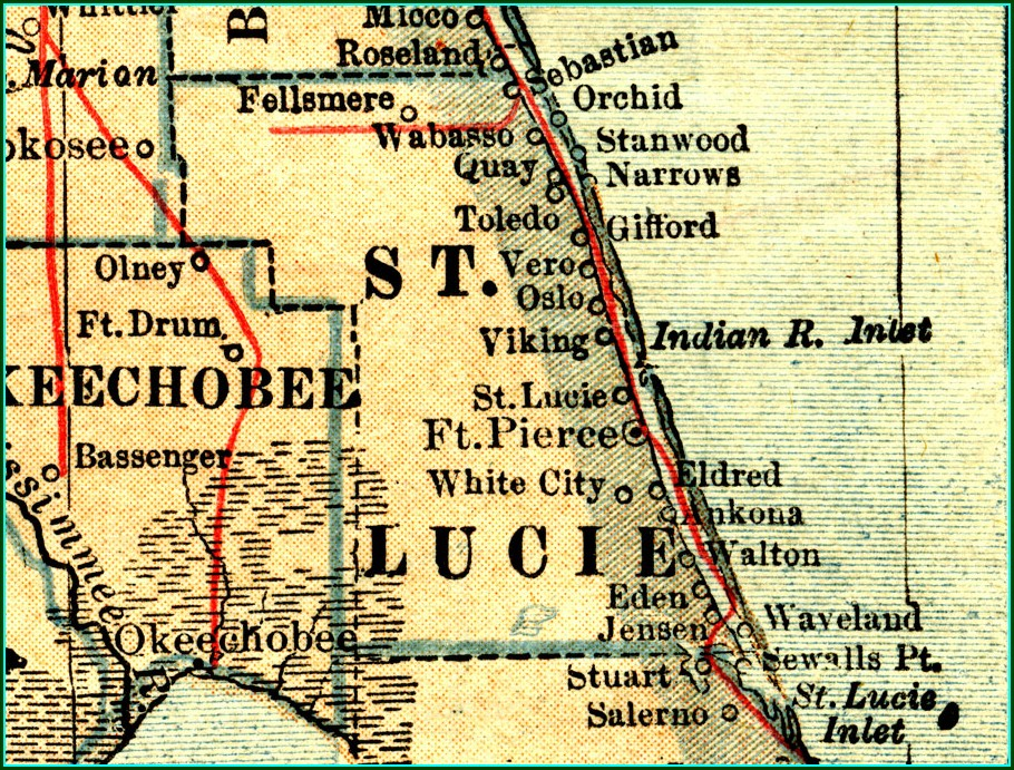 St Lucie County Plat Maps