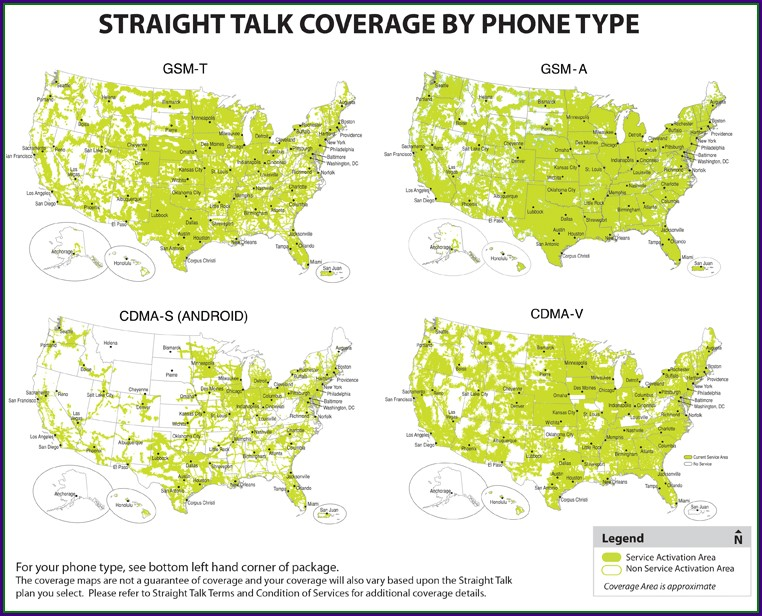 Straight Talk Coverage Map 2019