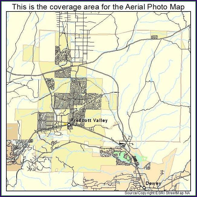 Street Map Of Prescott Valley Az