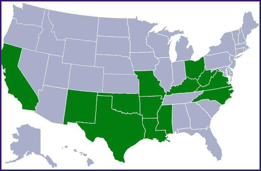 Suddenlink Internet Availability Map