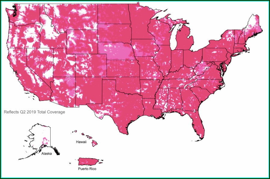 T Mobile Coverage Map Florida