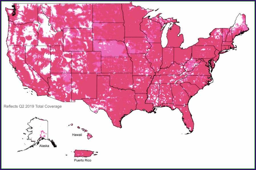 T Mobile Straight Talk Coverage Map