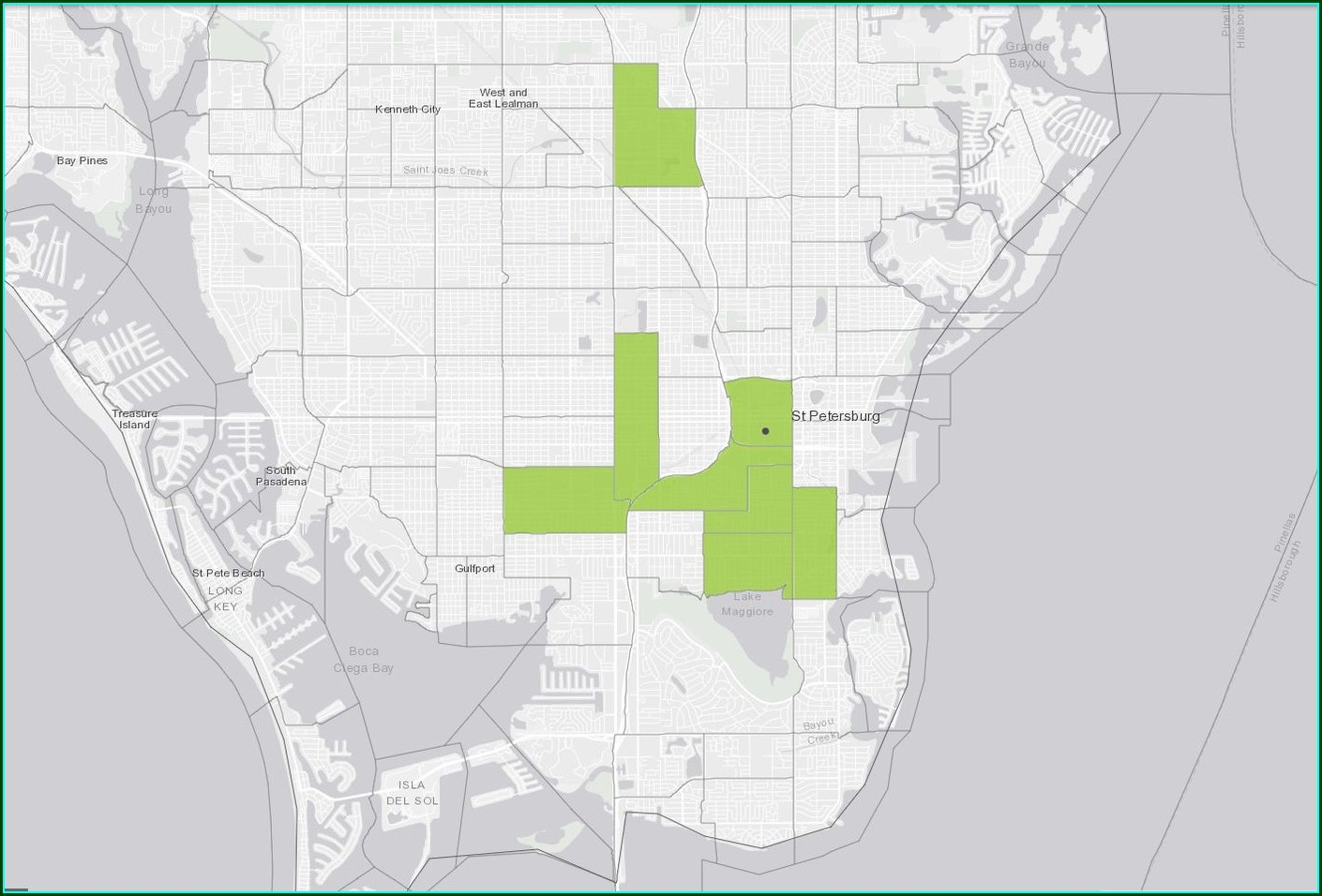 Tampa Opportunity Zone Map