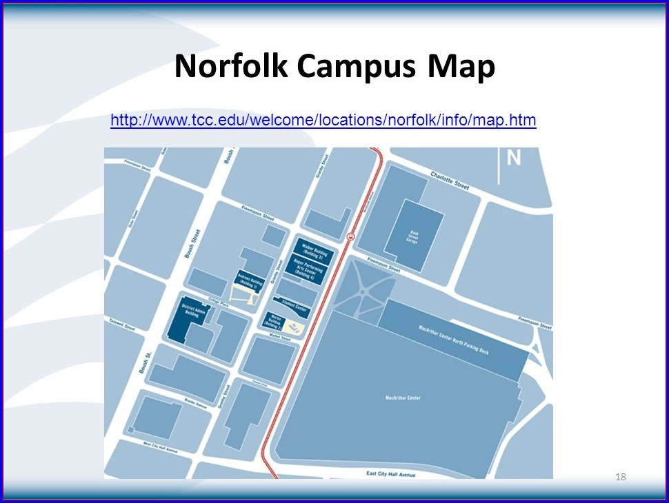Tcc Norfolk Campus Map