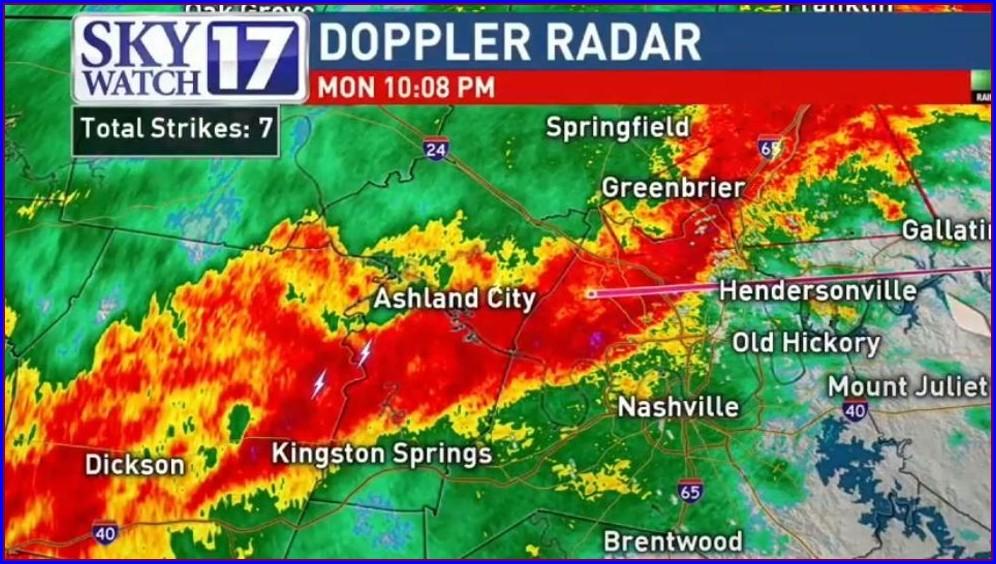 Tennessee Weather Radar Map