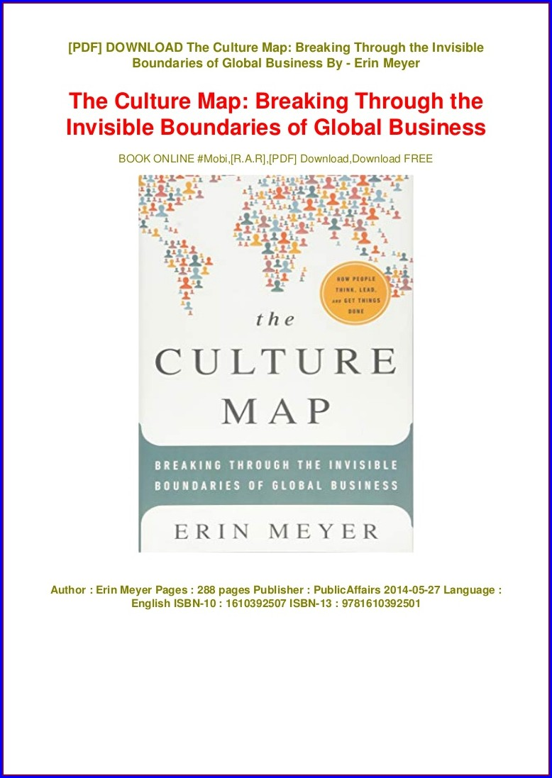 The Culture Map Erin Meyer Pdf Free Download