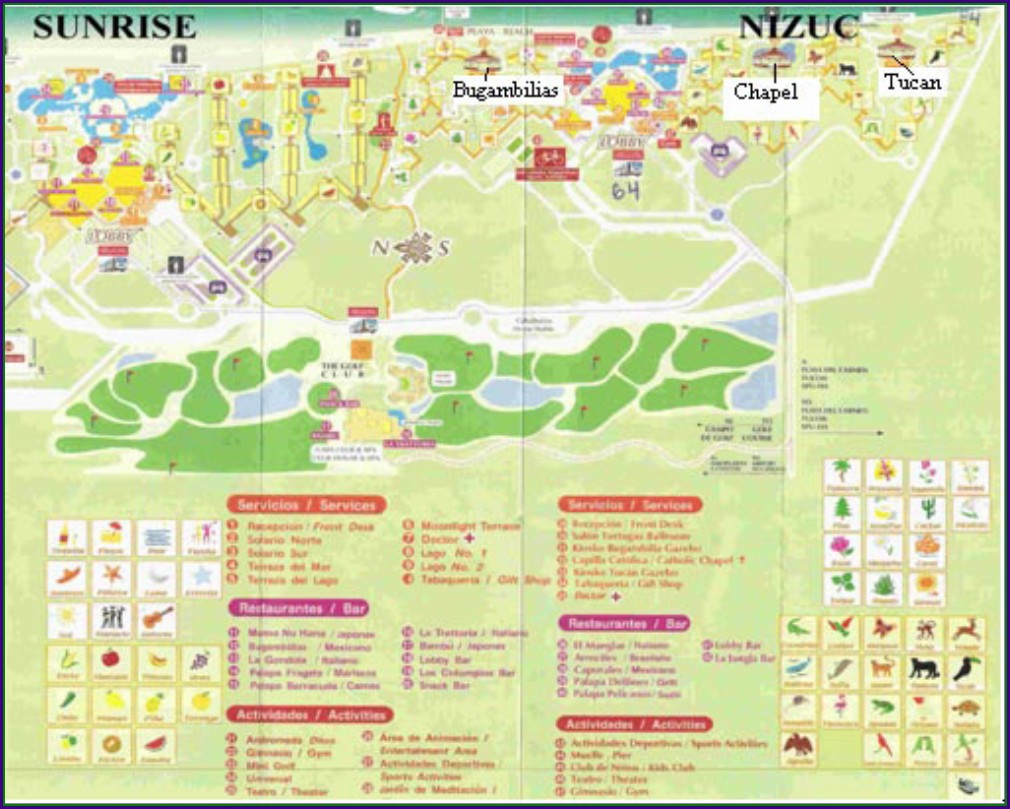 The Grand At Moon Palace Cancun Map Pdf