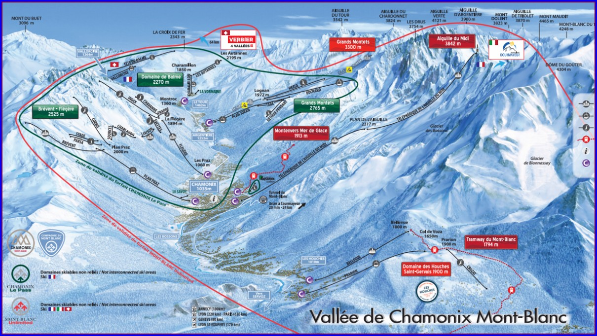 Tour Du Mont Blanc Map Pdf