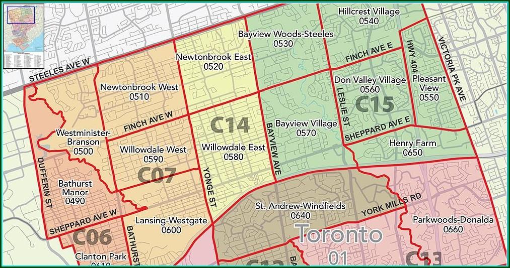 Treb District Map Toronto