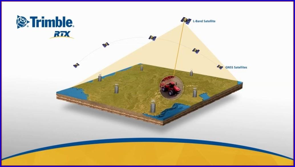Trimble Rtx Coverage Map