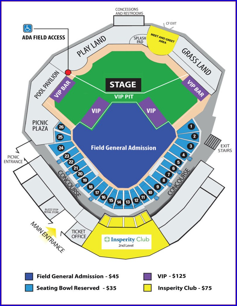 Tuacahn Amphitheatre Seating Map
