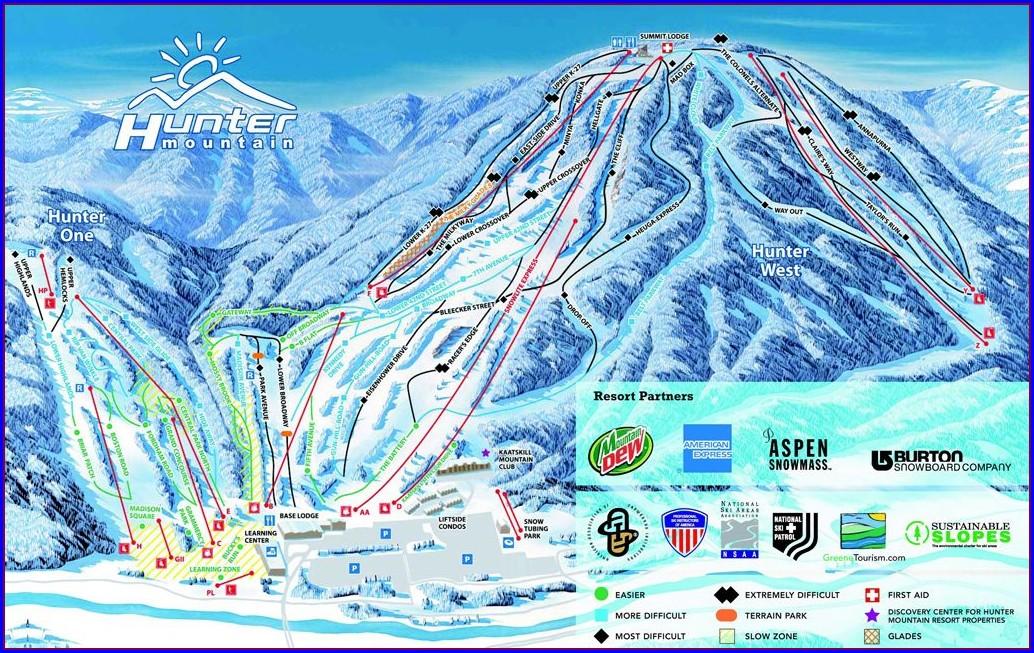 Upstate Ny Skiing Map