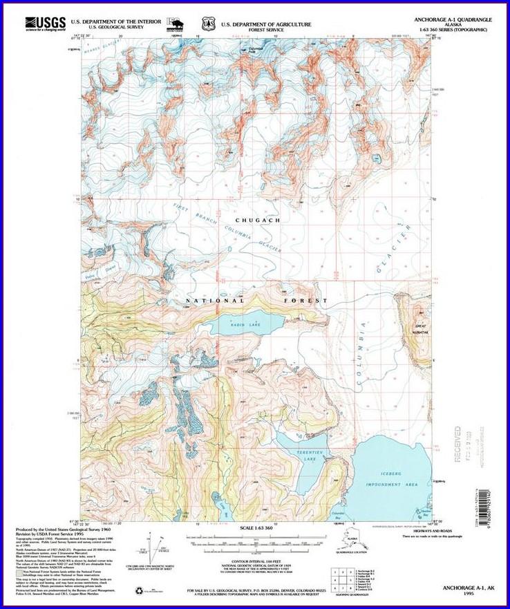 Usgs Topo Maps Alaska