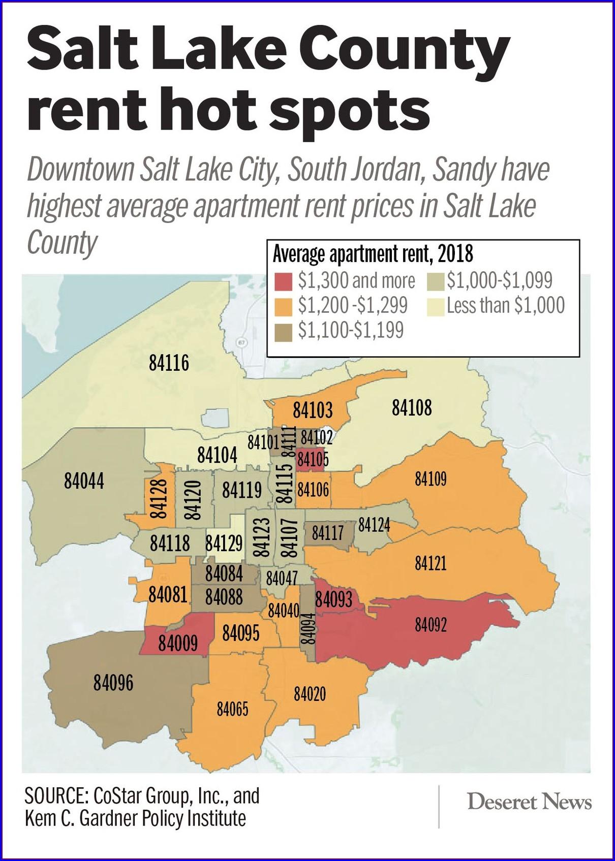 Utah Home Values Map