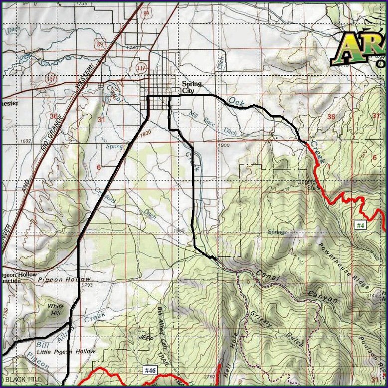 Utah Ohv Trail Maps