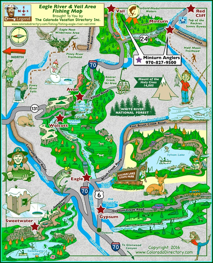Vail Lake Camping Map