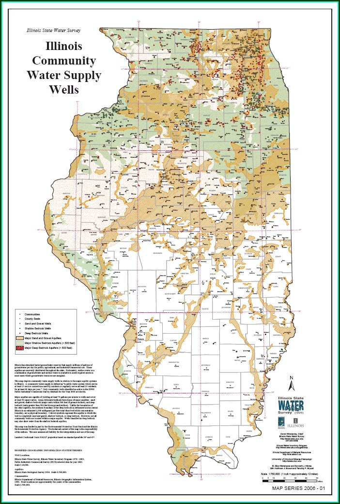 Water Table Depth Map Ohio