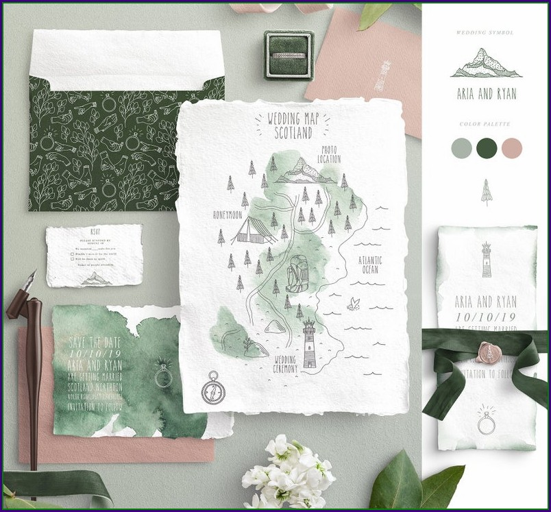 Wedding Invitation Map Creator