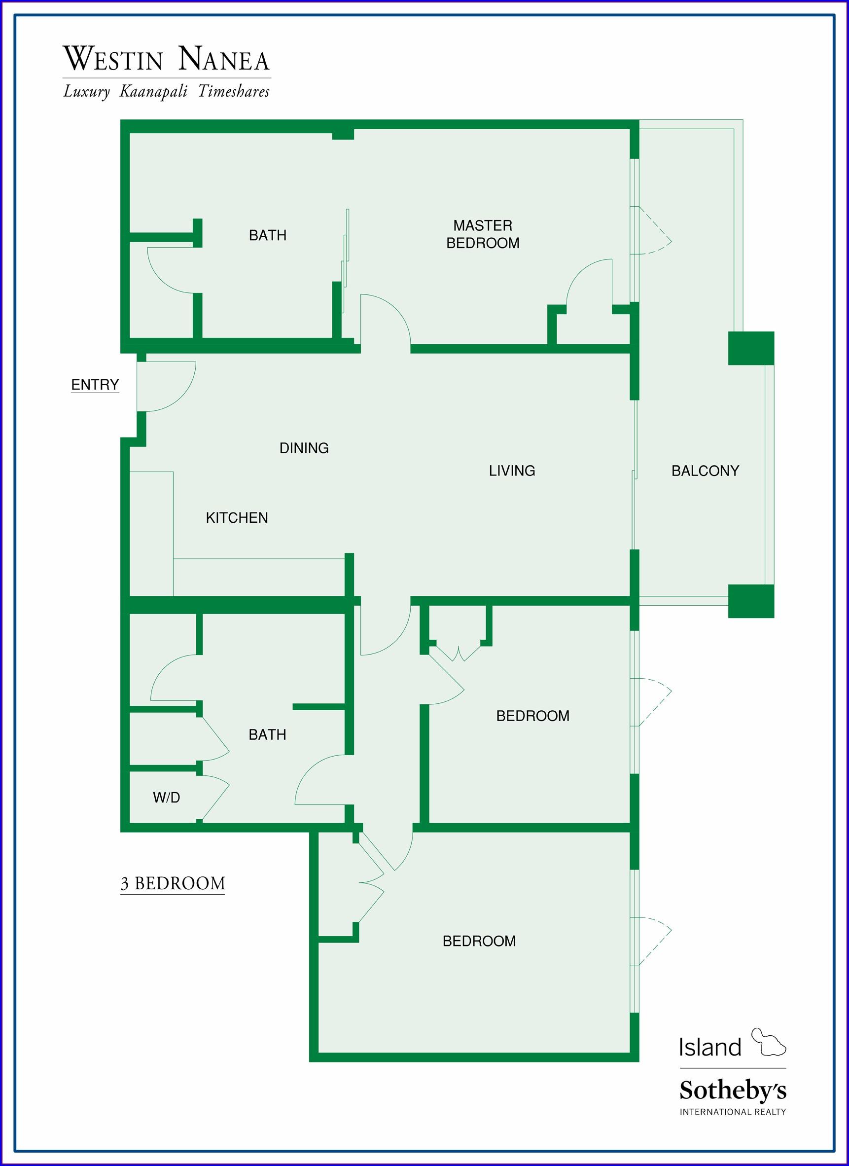 Westin Nanea Property Map