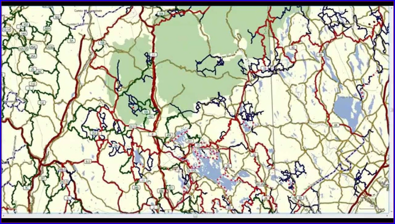 Wolfeboro Snowmobile Club Trail Map