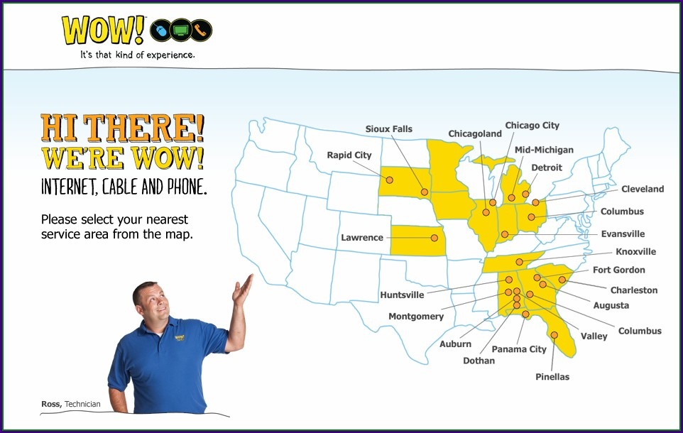 Wow Cable Coverage Map