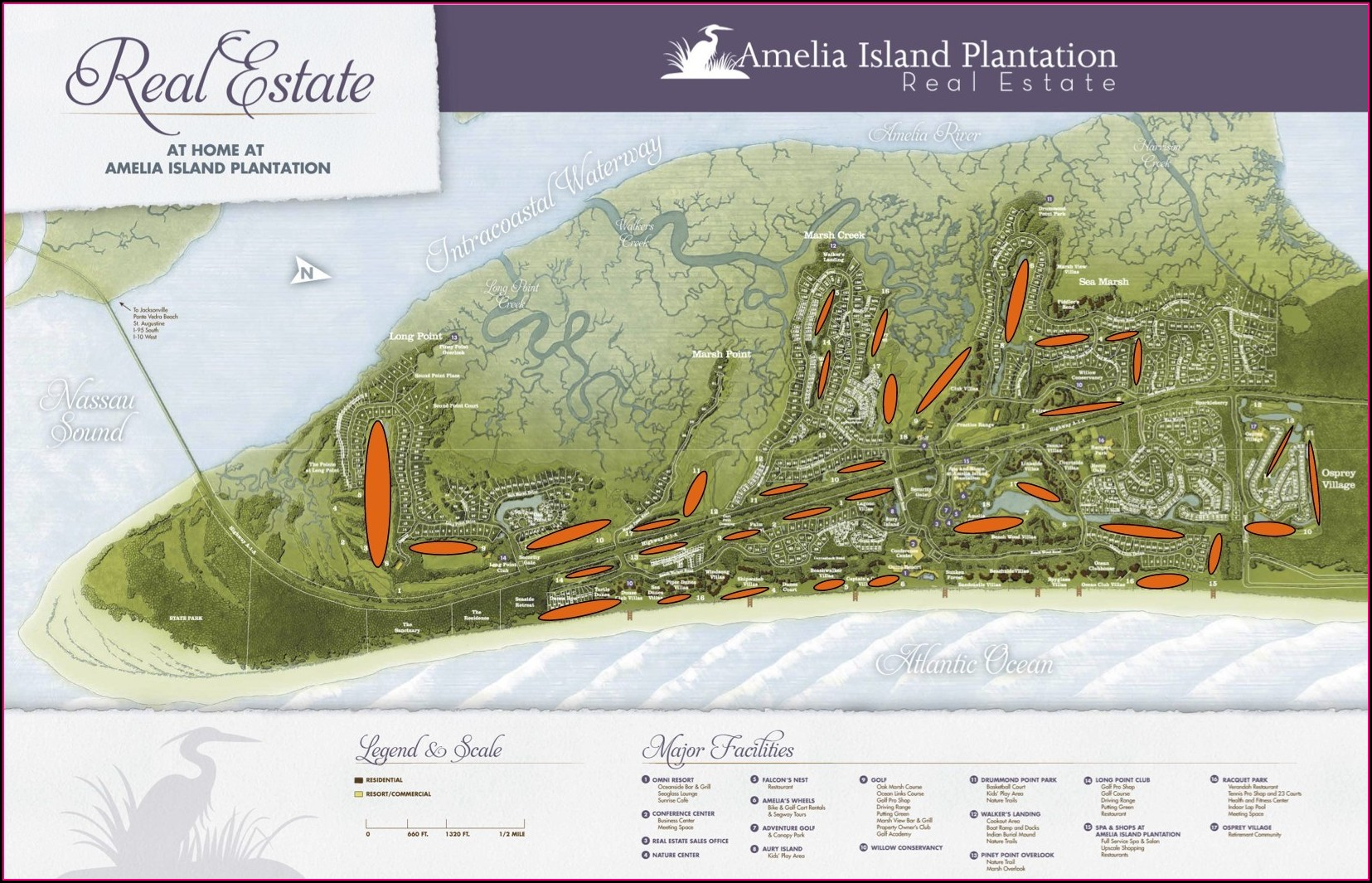 Villas Of Amelia Island Plantation Map