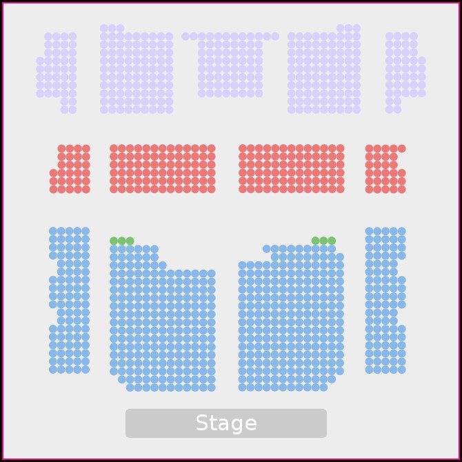 Vogue Theatre Vancouver Seating Map