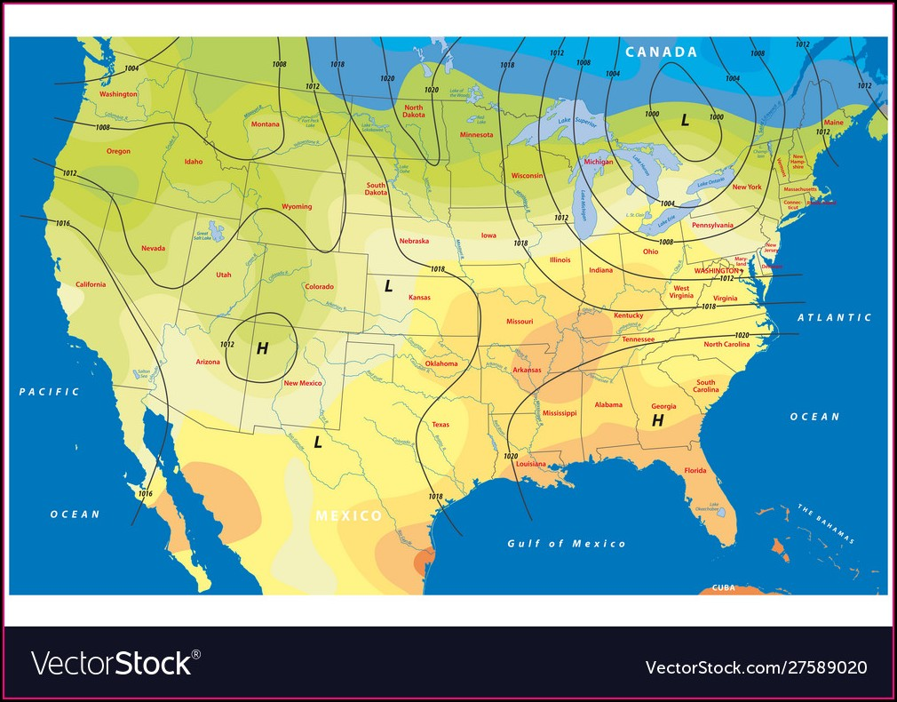 Weather Map Of Usa This Weekend