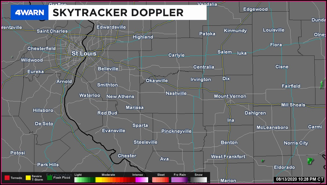 Weather Map Springfield Il