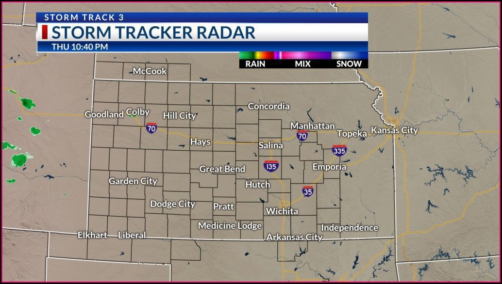 Weather Map Wichita Ks