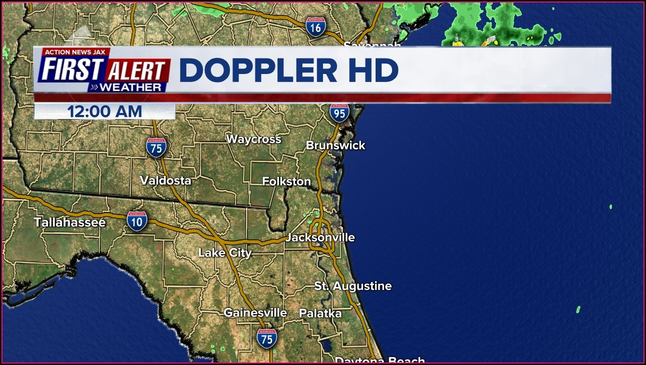 Weather Radar Map Jacksonville Florida