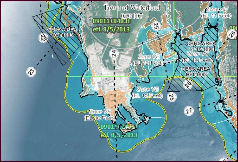 Westbrook Ct Flood Map