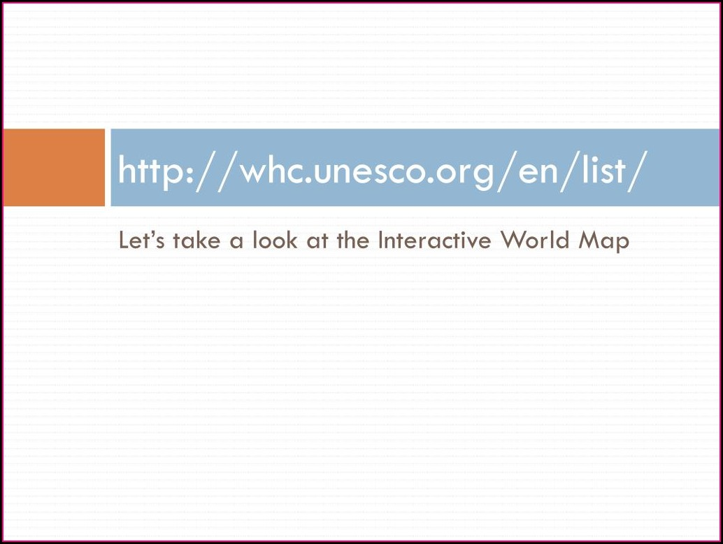 Whc Unesco Org En Interactive Map